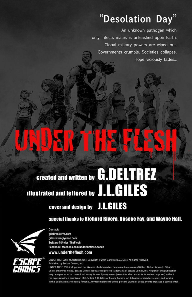 "Under the Flesh - ""Desolation Day"" - Credits"