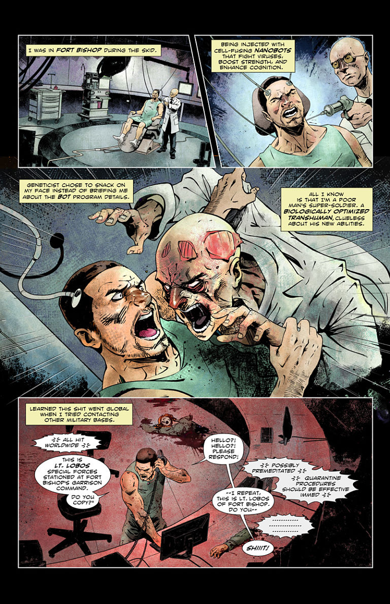 Under the Flesh - Your Poor Man's Super-Soldier